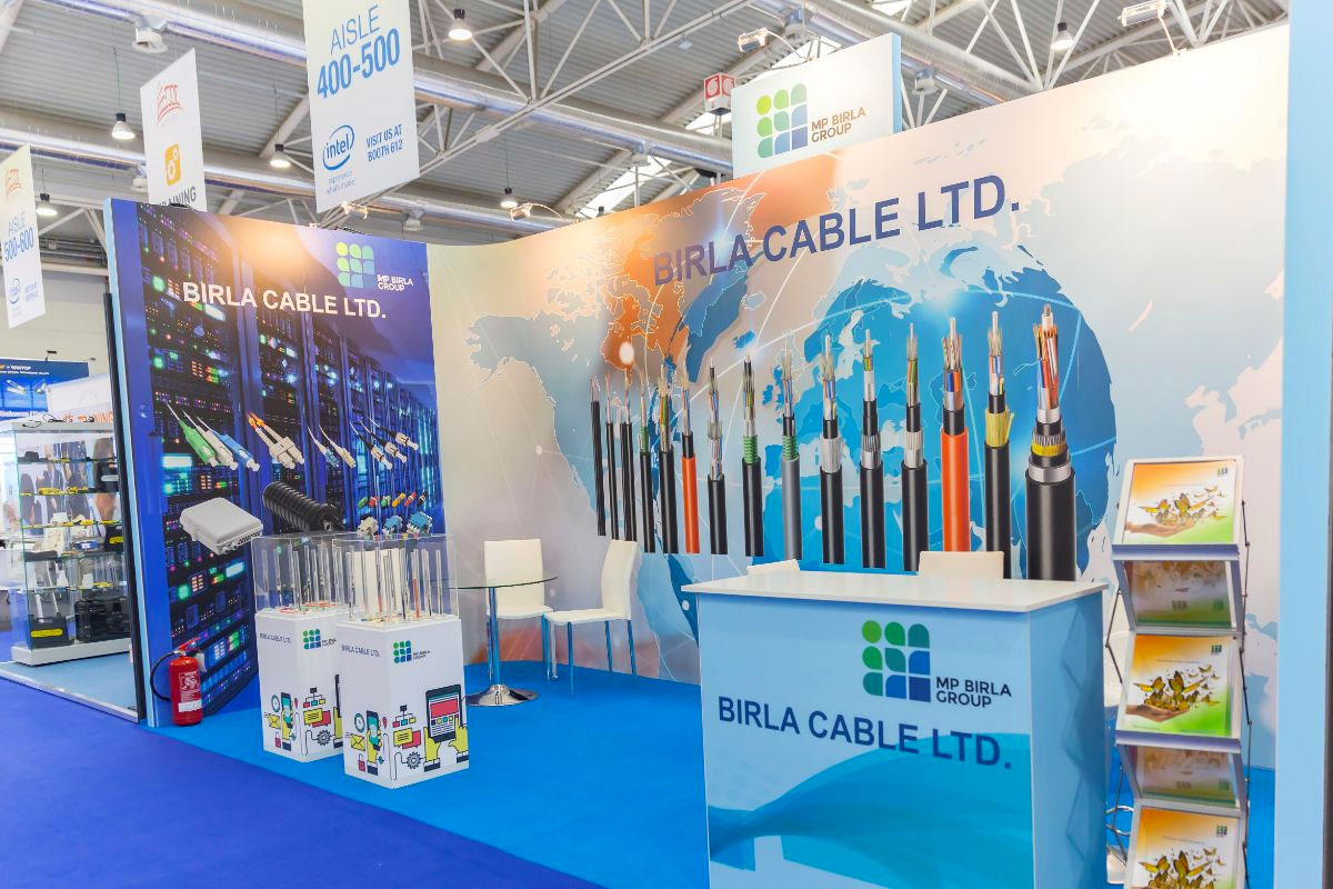 Stand for Birla Modular by Quad Display