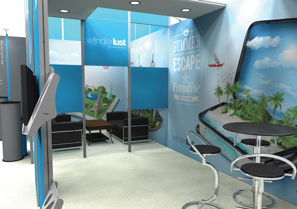 Exhibition Stand Design by Quad Display